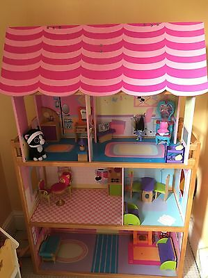 Large Dolls House And Furniture
