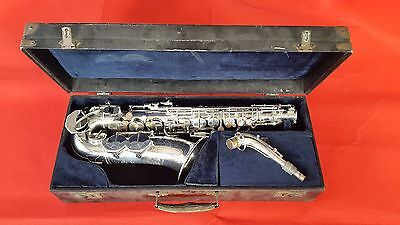 "SAXOPHONE ALTO PIERRET ""SUPER ARTISTE"" 1950 (Made in France)"