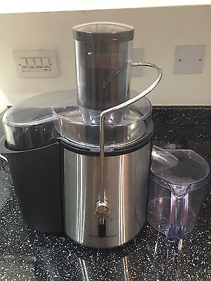 Andrew James Professional Juicer in black and silver With Jug - Used 3/4times