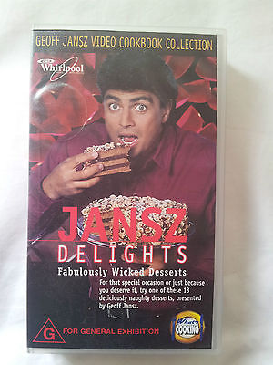 JANSZ DELIGHTS -Cookbook Collection (VHS)