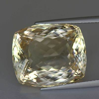 18.51 cts-Cushion Cut-Soft Yellow-Natural-Scapolite-Brazil-GS20