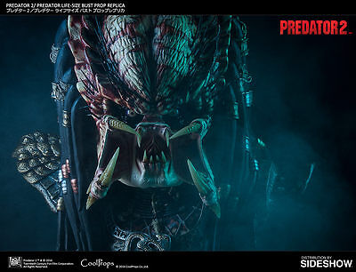 Predator 2 Life-Size Bust by CoolProps - Free US Shipping