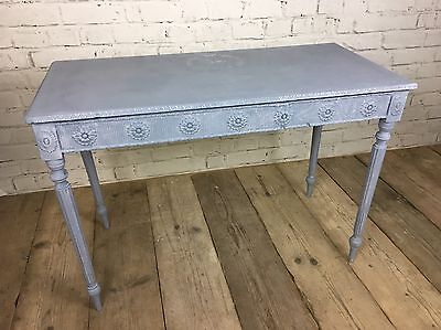 French Style Dressing Table Console Desk Paris Detail Shabby Chic
