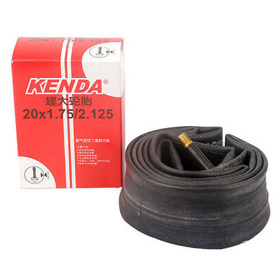 "KENDA 20"" 20x1.75/2.125 A/V Bike Bicycle Cycling Inner Tube Tire Schrader Valve"