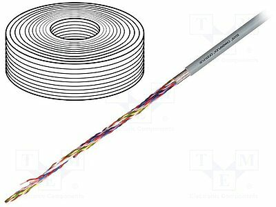 5 meter Wire; chainflex® CF211.PUR; stranded; Cu; 6x2x0,5mm2; PUR; grey