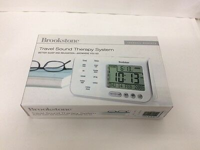Brookstone Travel Sound Therapy System