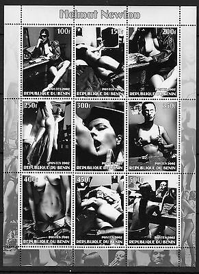 Art/Nude Paintings on Stamps/Helmut Newton -  MNH - (D101)-2