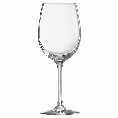 Pack of 24 Chef & Sommelier Cabernet Tulip Wine Glasses 250ml CE Marked at 175ml