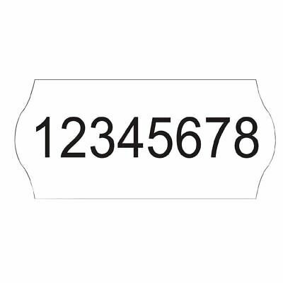 Avery Dennison Plain Labels for Pricing Gun 12x26mm Fits GH001 Pack of 15000