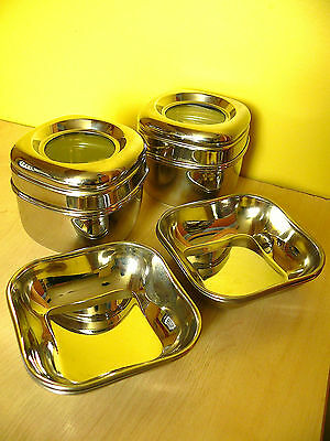 Stylish Stainless Steel Pots & Bowls, Made in India