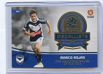 2013/14 A-League Marco Rojas Melbourne Victory 2012/13 Young Footballer Medalist