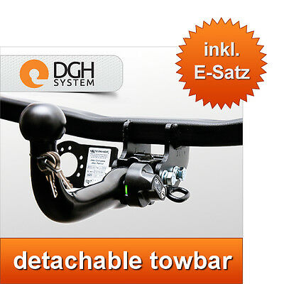 JEEP COMPASS 2006-2011 MK49 Detachable Horizontal Towbar with Electric Kit 7Pin