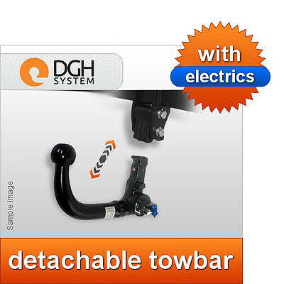 Fixed Swan Neck Towbar with Electric Kit 13Pin for CHEVROLET TRAX 2013