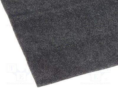 1 pc Upholstery cloth; 1.4x0.7m; self-adhesive; anthracite