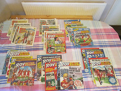 Roy of the Rovers Comics - July 86 to Dec 86