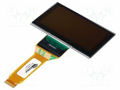 """1 pc Display: OLED; graphical; 2.7""""; 128x64; Dim:73x41.86x2mm; white"""