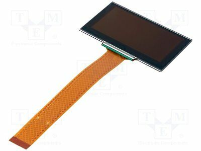 """1 pc Display: OLED; graphical; 2.7""""; 128x64; Dim:73x41.86x3mm; yellow"""