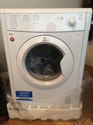 Indesit IDV75 7kg Vented Tumble Dryer in White New Collection In Manchester