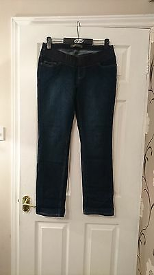 Mothercare Blooming Marvelous Maternity Jeans Size 12