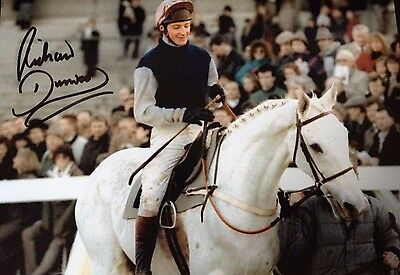Richard Dunwoody - Legendary Jumps Jockey - Signed Colour Desert Orchid Photo
