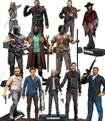 The Walking Dead Michonne Daryl Negan Rick Color Tops Figuren McFarlane Neu OVP