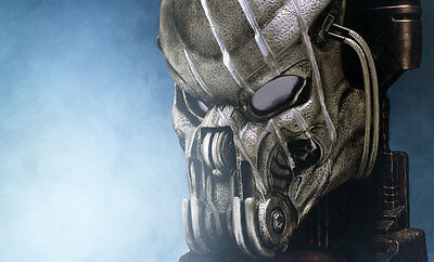 Battle Damaged Celtic Predator Mask by CoolProps - Free US Shipping