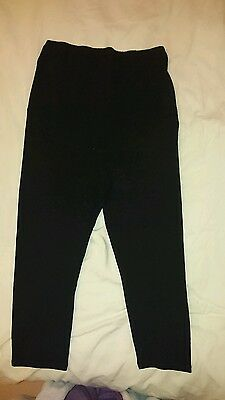 H&M 3/4 maternity over the bump leggings size M