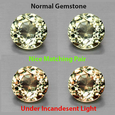 0.60Cts EXQUITISE Gem - Extremely Best Grade Natural Color Change DIASPORE ZX051