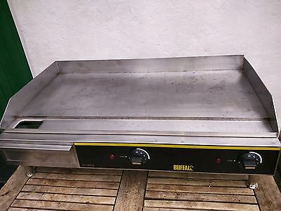 Commercial Buffalo super wide electrical griddle, hot plate, contact Grill 75 cm