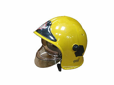 Msa Gallet Fire Fighters Helmet - Grade 1 Condition - Size Small