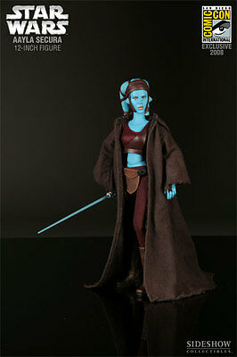 Aayla Secura #2155 Sideshow Star Wars *** Nuevo*** New***