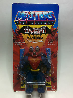Masters Del Universo - Mantenna - Motu - Moc- Spanish - New- Sealed