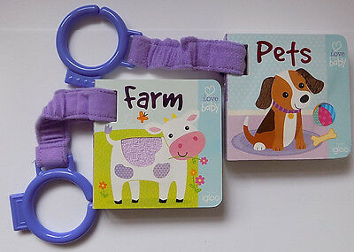 2 New Igloo Buggy Books - Pets and Farm with touch and feel - Free Post and Pack