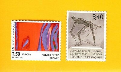 Timbres France 1993 Europa.
