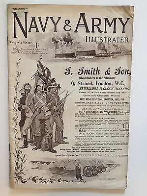 The Navy & Army Illustrated - Christmas Number - December 1898 - Vol.VII - No.98