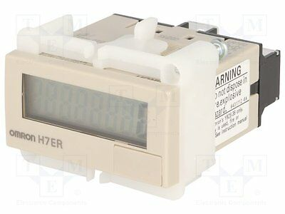 1 pc Counter: electronical; Display: LCD; Type of count.signal: speed