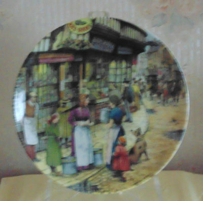 "Collectors Plate ""the Milk Maid"" By Davenport"