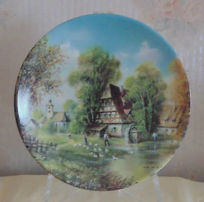"Collectors Plate ""by The Mill Stream"" By Seltmann"