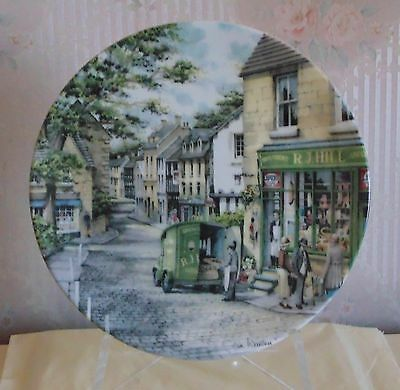 "Collectors Plate ""the General Store"" By Royal Doulton"