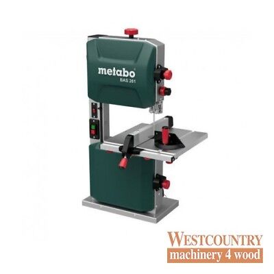 "Metabo BAS 261 10"" Precision Bench Top Woodworking Bandsaw"