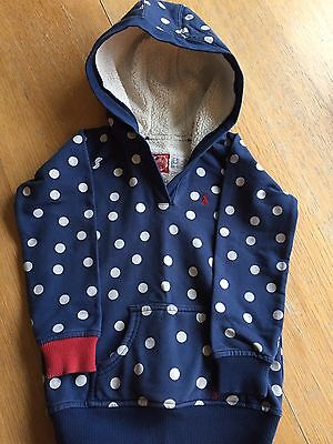 Girls Hoodie - Age 3 (from Joule) Good Condition