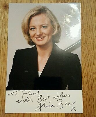 signed photograph television
