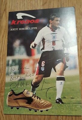 signed photograph football