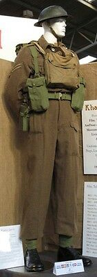 Second World War High Quality Reproduction Early Battledress Trousers, WW2