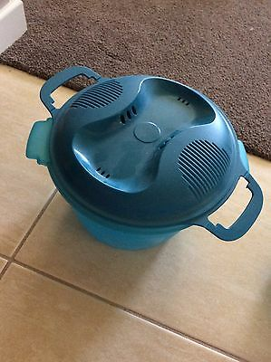 Tupperware Rice Cooker Virtually New With Instruction Booklet