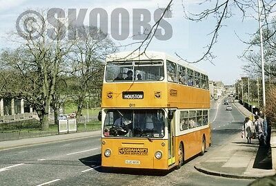 FOTO Graham, Paisley Leyland FE30 D11 OJD185R in 1986 at Paisley bereich