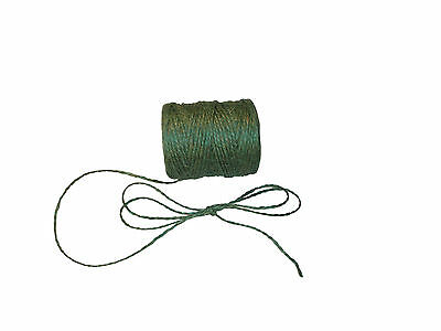 Jute Twine Gard Horticultural Rope Ball Line Packthread Green 1.5mm