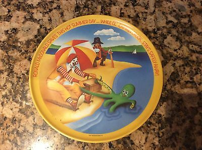 Ronald McDonald This Hot Summer Day Plate