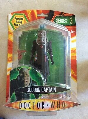 Doctor Who Judoon Captain Figure Brand New Sealed Series 3
