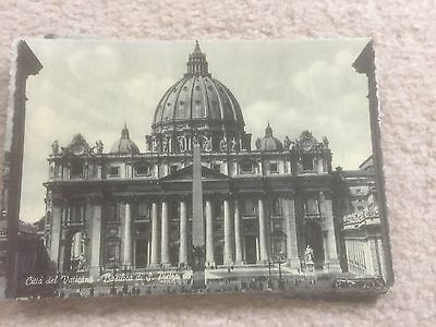 postcard collection of Rome 1950s